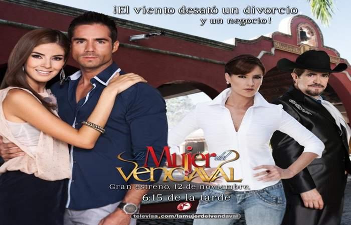 La mujer del Vendaval / The Lday From Vendaval Telenovela Full Story